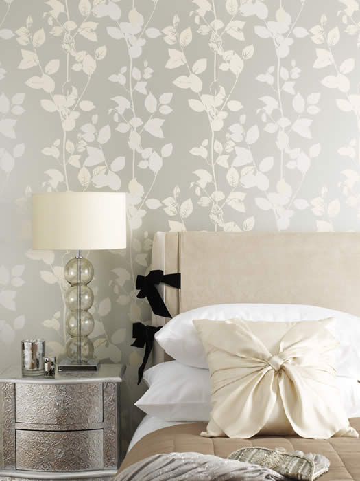 Wallpaper design feature wallpaper for Feature wallpaper bedroom ideas
